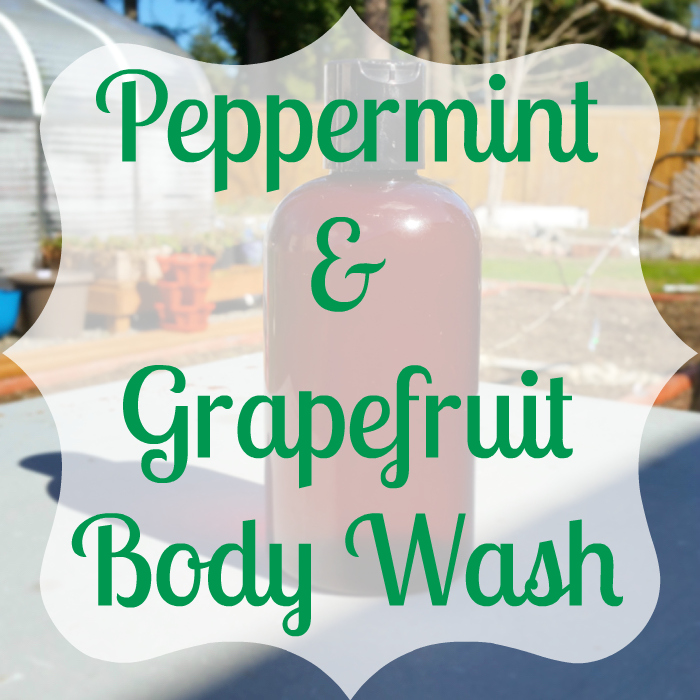 Peppermint & Grapefruit Body Wash Recipe